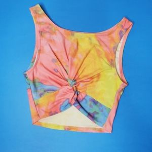 3 for $30   multicolored crop top